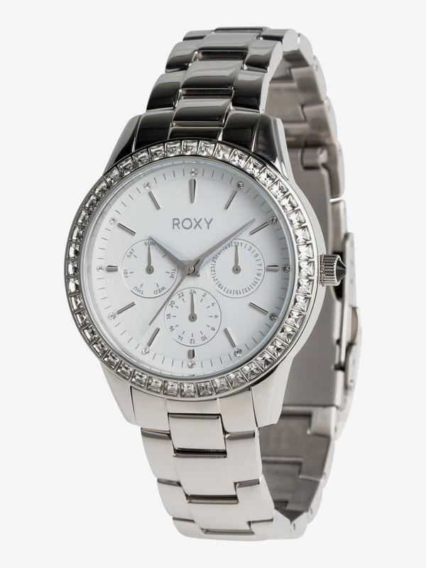 0 Jewel - Analogue Watch for Women Grey ERJWA03020 Roxy