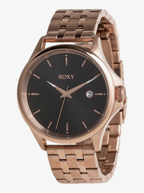0 Messenger Metal - Analogue Watch for Women Pink ERJWA03023 Roxy