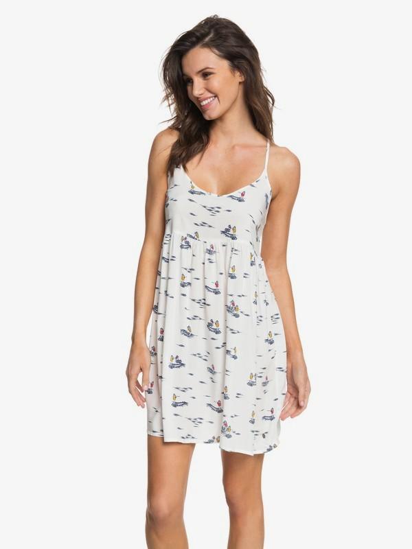 0 Tropical Sundance - Riemchenkleid für Frauen Weiss ERJWD03194 Roxy