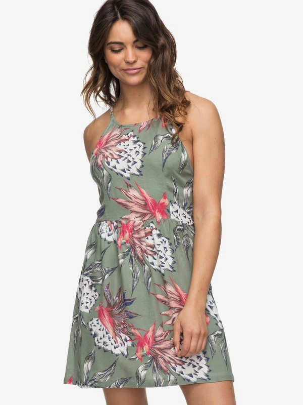 0 Antelope Curves Strappy Dress  ERJWD03222 Roxy
