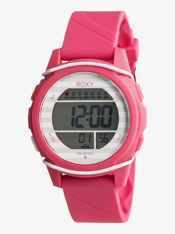 0 Kaili - Digital Watch for Women Pink ERJWD03236 Roxy