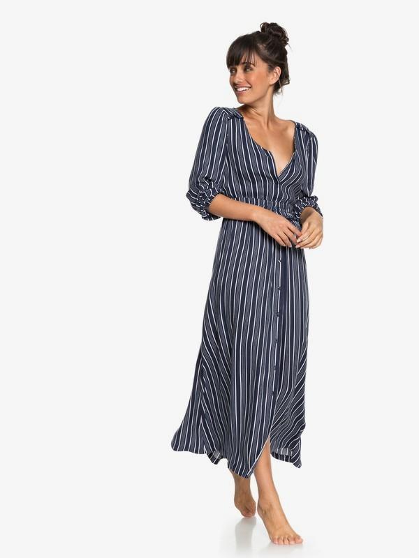 Subway Atmosphere - Long Sleeve Maxi Dress for Women  ERJWD03259