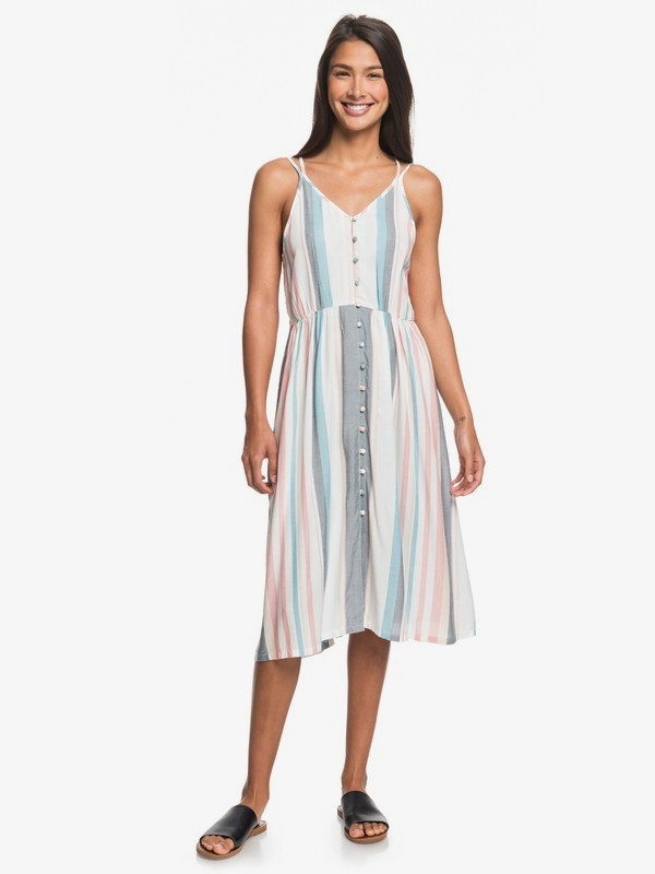 My Way To Coast - Strappy Wrap Dress for Women  ERJWD03371