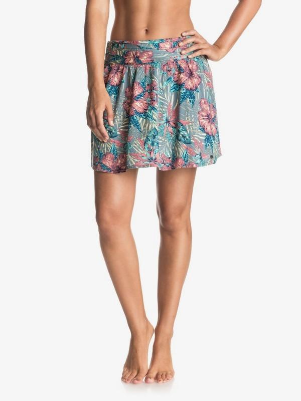 0 Ultra Violet - Skater Skirt Blue ERJWK03023 Roxy