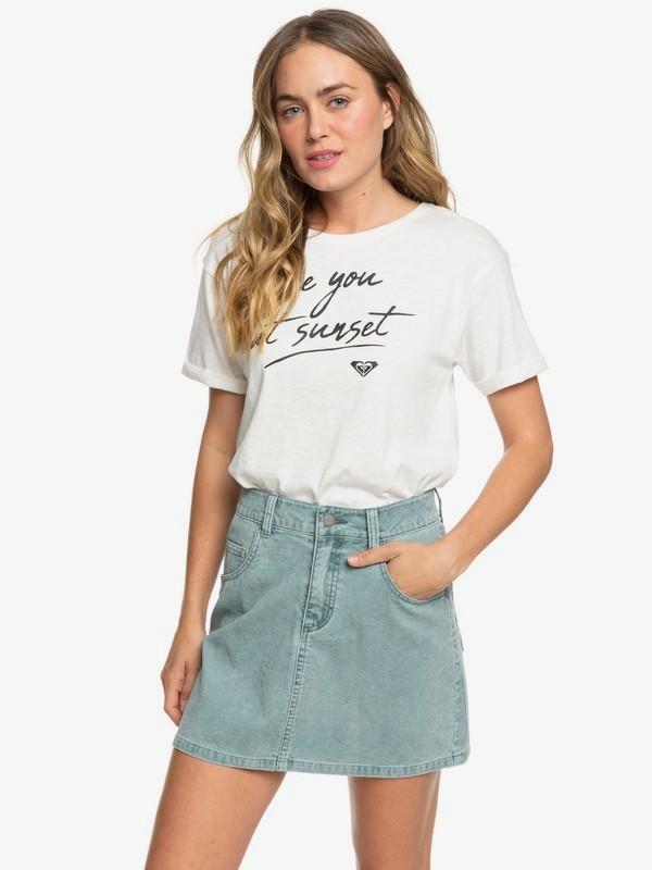Linger Longer - Corduroy Skirt for Women  ERJWK03079