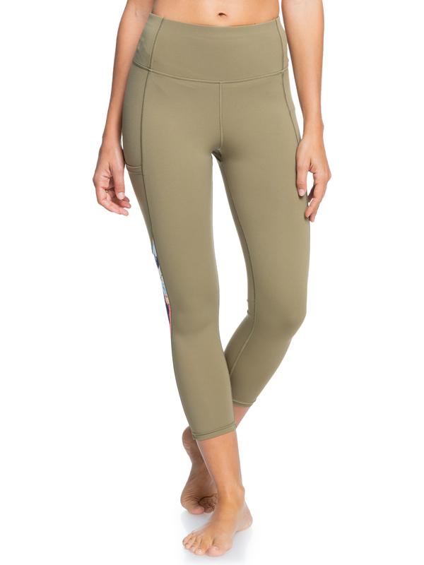 Runway Circle - Technical Capri Leggings for Women  ERJWP03036