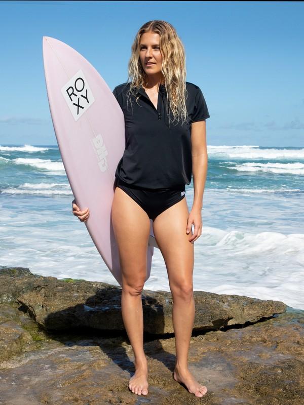 POP Surf - Short Sleeve UPF 50 One-Piece Rashguard for Women  ERJWR03417