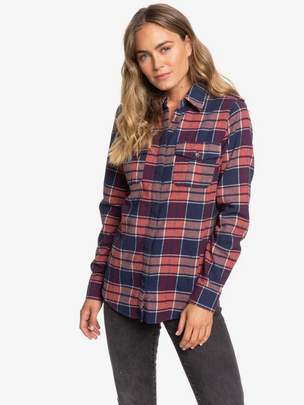 0 Dream In Blue Long Sleeve Shirt Blue ERJWT03358 Roxy