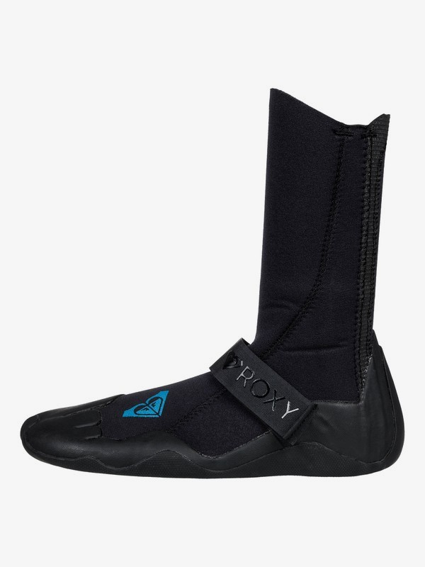 0 3mm Syncro Round Toe Surf Boots Black ERJWW03011 Roxy