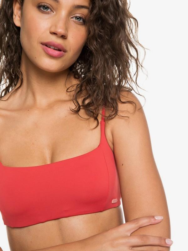 0 Softly Love Bralet Bikini Top Red ERJX303790 Roxy