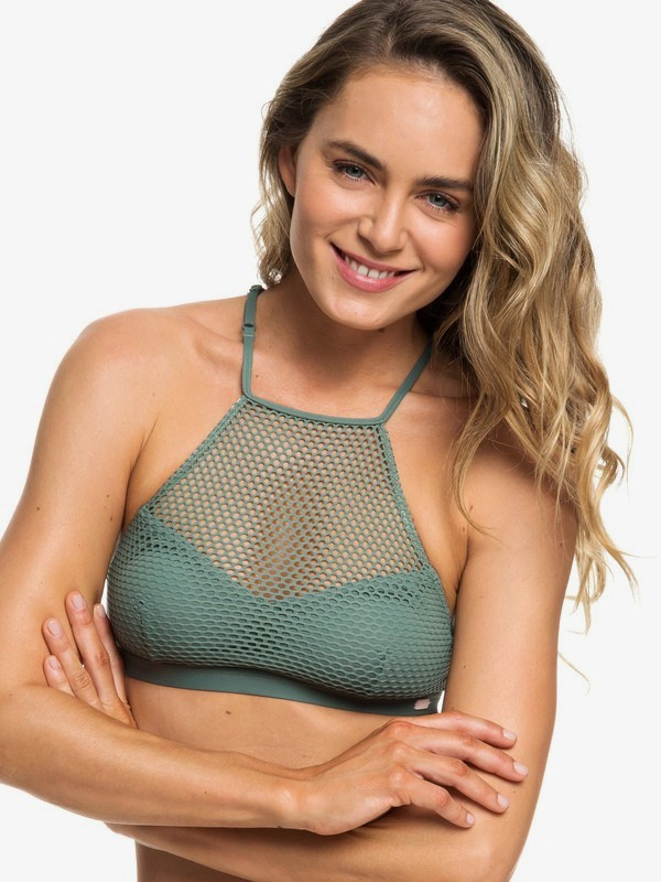 Garden Summers - Crop Top Bikini Top for Women  ERJX303847