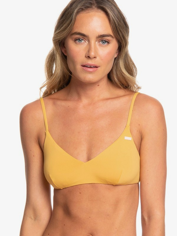 Beach Classics - Athletic Tri Bikini Top for Women  ERJX304059
