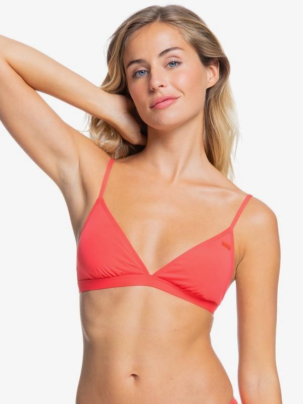 Beach Classics - Fixed Tri Bikini Top for Women  ERJX304068