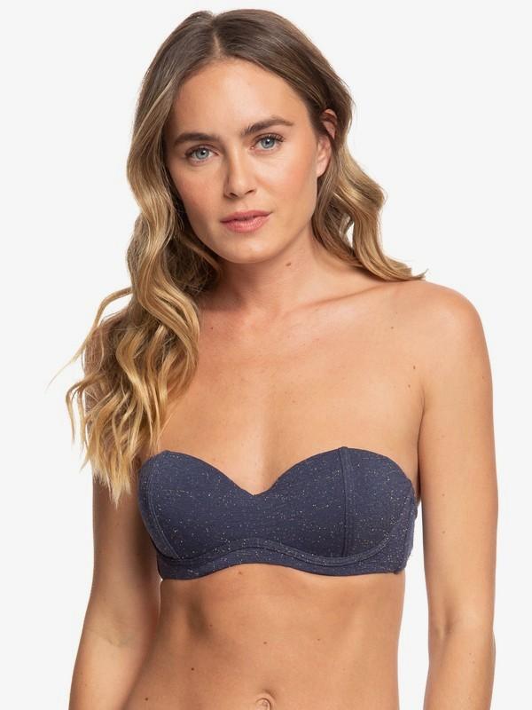 Gorgeous Sea - Moulded Bandeau Bikini Top  ERJX304107