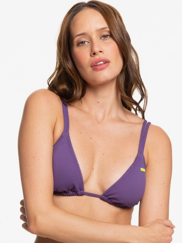 H and K Sister - Tiki Tri Bikini Top for Women  ERJX304134