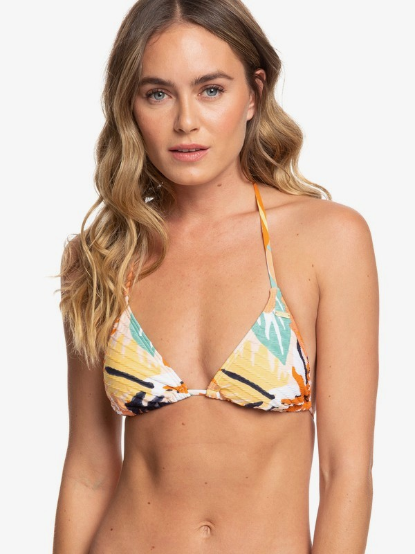 Swim The Sea - Tiki Tri Bikini Top  ERJX304139