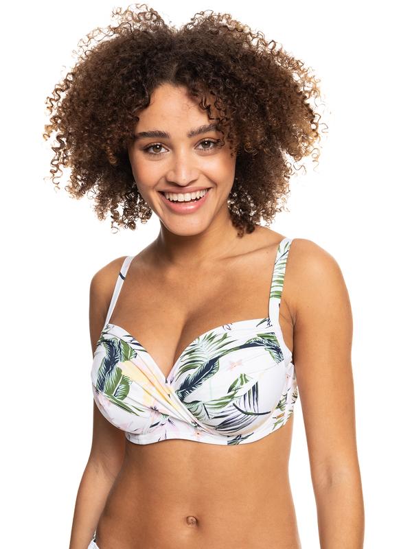 ROXY Bloom - D-Cup Wrap Bra Bikini Top for Women  ERJX304374