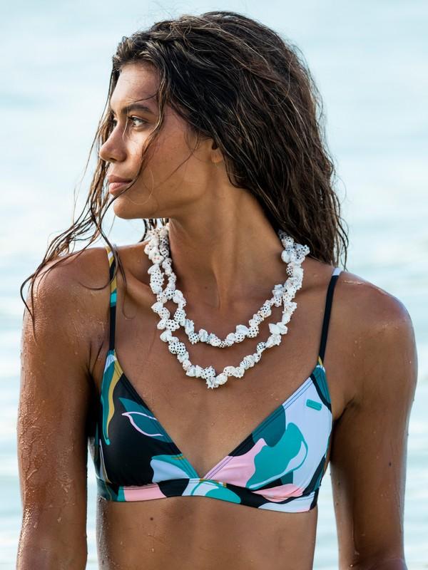 Beach Classics - Fixed Tri Bikini Top for Women  ERJX304495