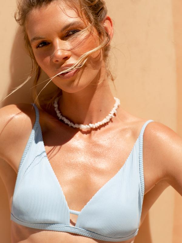 Mind Of Freedom - Elongated Tri Bikini Top for Women  ERJX304504