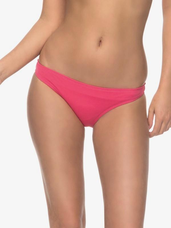 0 ROXY Essentials - Bas de bikini couvrance naturelle pour Femme Rose ERJX403462 Roxy