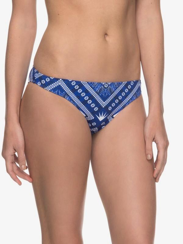 0 ROXY Essentials - Mutandina Bikini Surfer Blue ERJX403559 Roxy