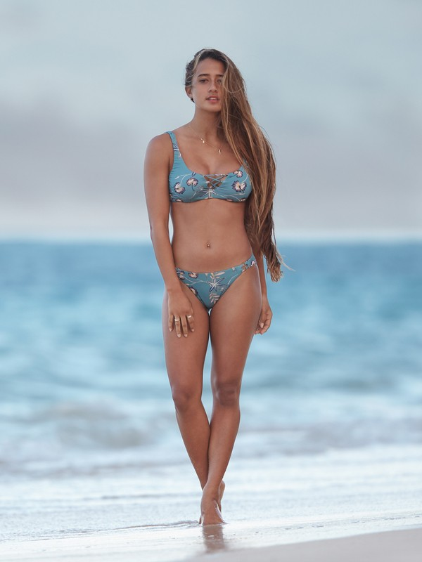 0 Softly Love Full Bikini Bottoms Blue ERJX403610 Roxy