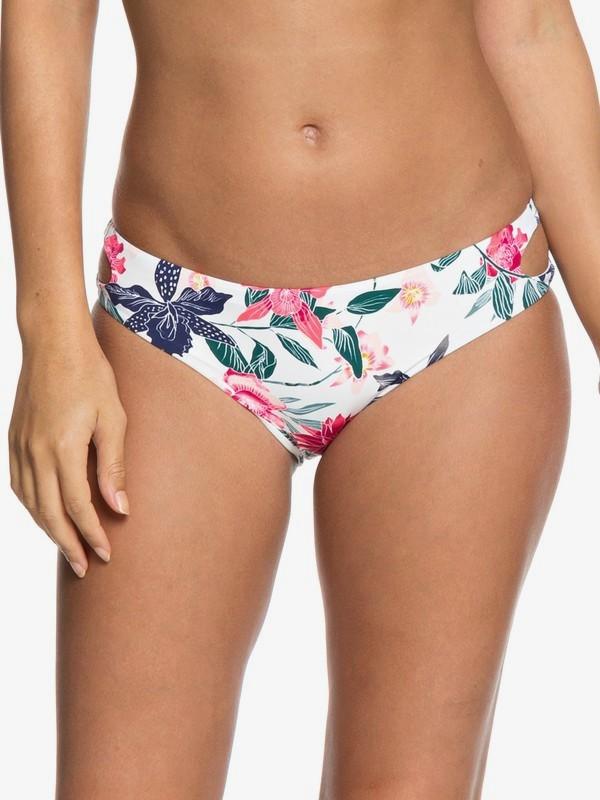 0 Parte Inferior de Bikini Completo Urban Waves Blanco ERJX403622 Roxy
