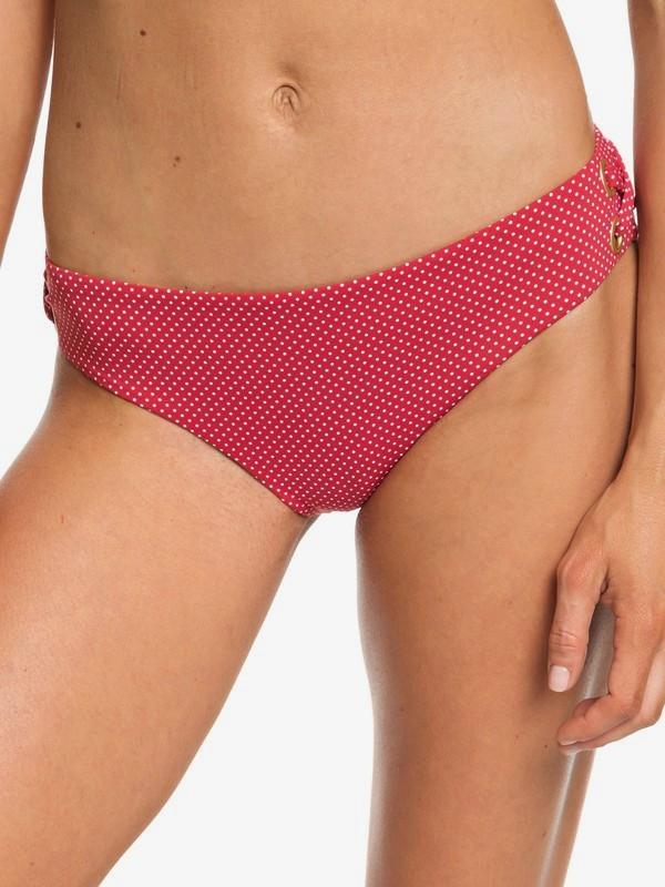 0 Beach Classics Full Bikini Bottoms Red ERJX403684 Roxy
