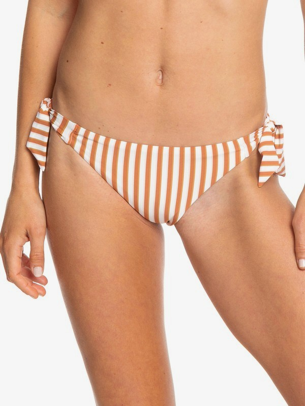0 Sister Mini Bikini Bottoms White ERJX403719 Roxy
