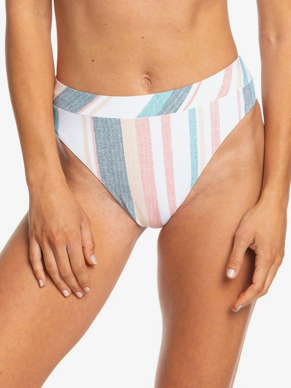 Printed Beach Classics - Mid Waist Bikini Bottoms for Women  ERJX403780