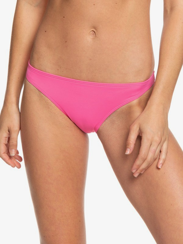 0 POP Surf Moderate Bikini Bottoms Pink ERJX403784 Roxy