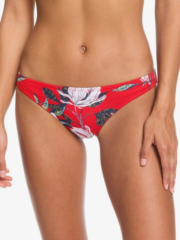 0 Local Mind Regular Bikini Bottoms Red ERJX403849 Roxy