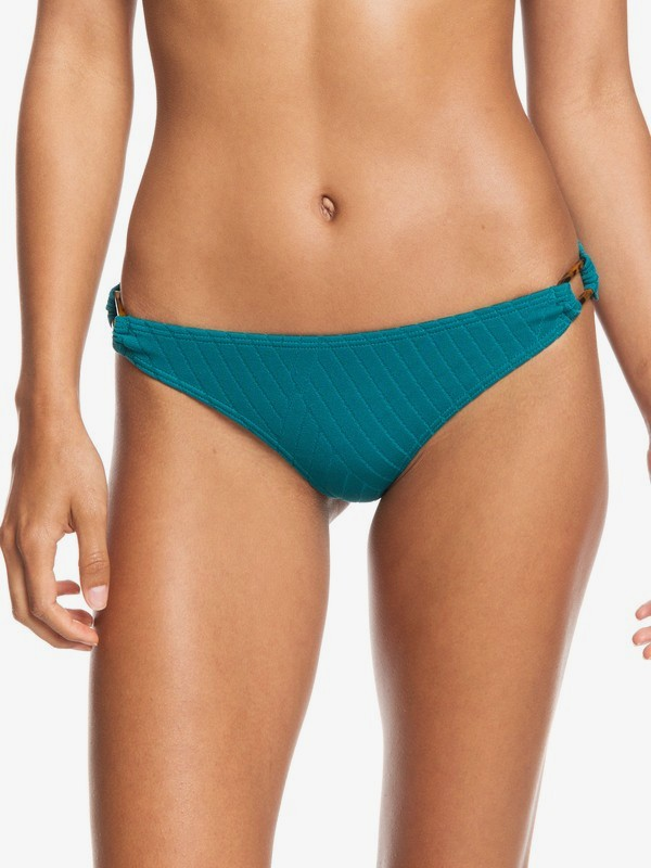 0 Tidal Times Mini Bikini Bottoms Blue ERJX403853 Roxy
