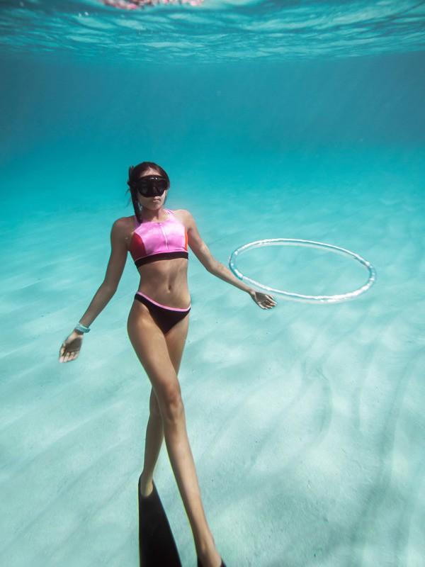ROXY Fitness - Regular Bikini Bottoms for Women  ERJX404124