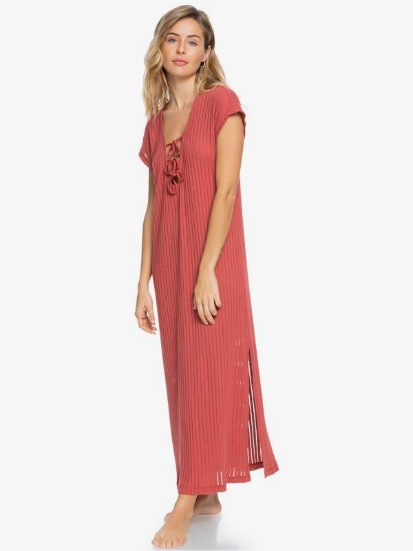 Summer Pink Wave - Beach Dress for Women  ERJX603226