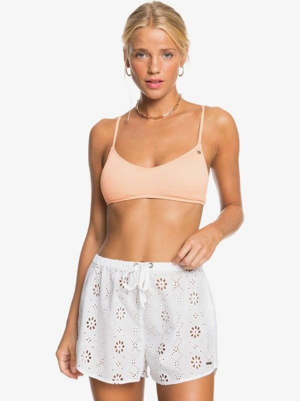 Romantic Ballad - Beach Shorts for Women  ERJX603260