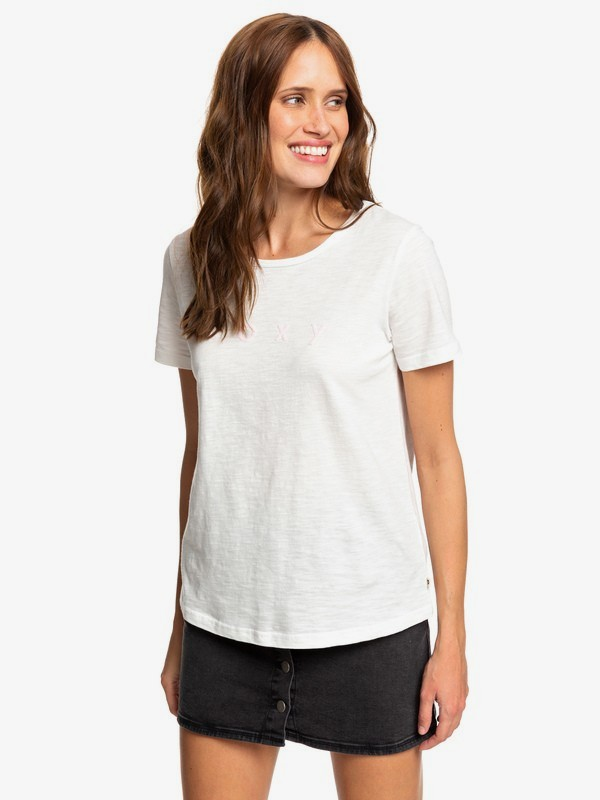 0 Red Sunset - T-shirt pour Femme Blanc ERJZT04628 Roxy