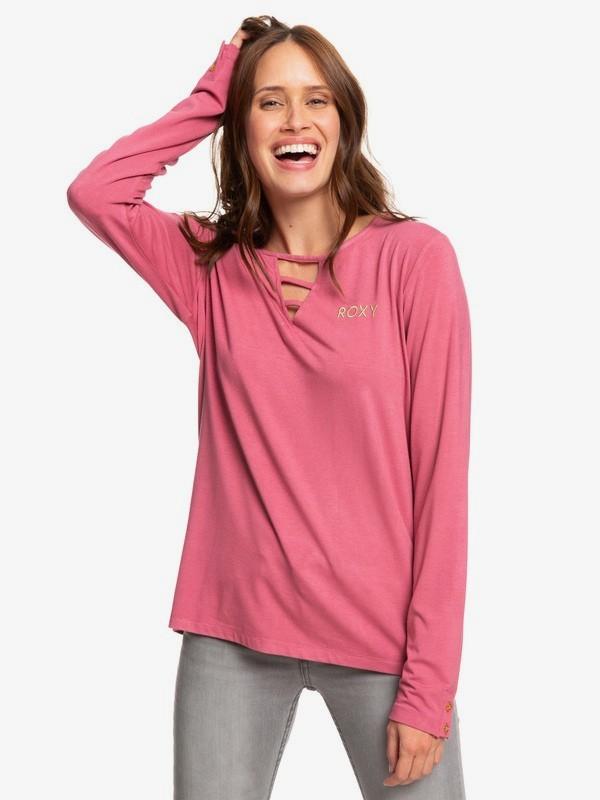 Rooftop Party - Long Sleeve T-Shirt for Women  ERJZT04647