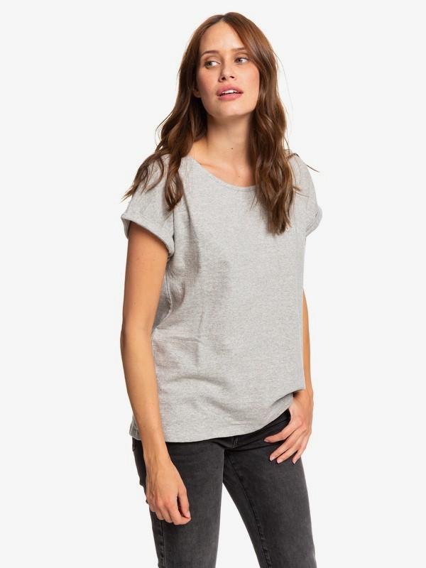 0 Blue Lagoon View B - T-Shirt for Women Grey ERJZT04669 Roxy