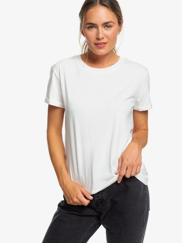 0 Surfing In Rhythm B Tee White ERJZT04693 Roxy