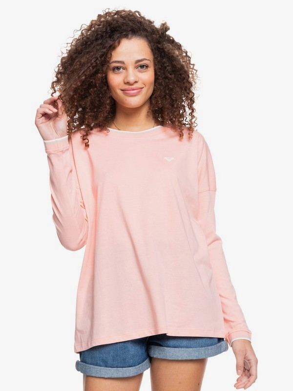 On The Boat B - Long Sleeve T-Shirt for Women  ERJZT05277