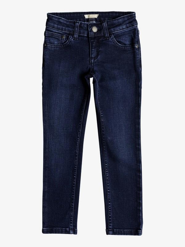 0 Узкие джинсы Adventure Begin Синий ERLDP03022 Roxy