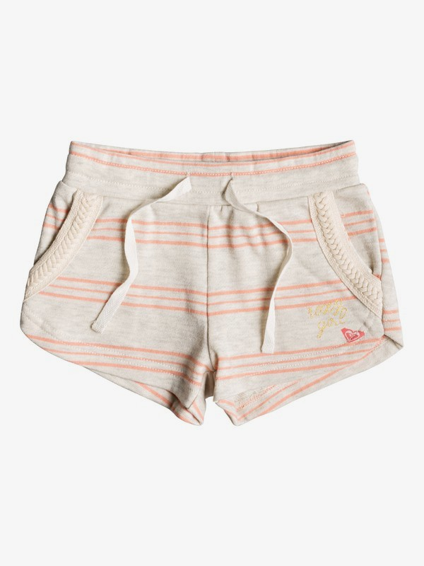 0 Girl's 2-6 Mystery Sun Sweat Shorts Beige ERLFB03058 Roxy