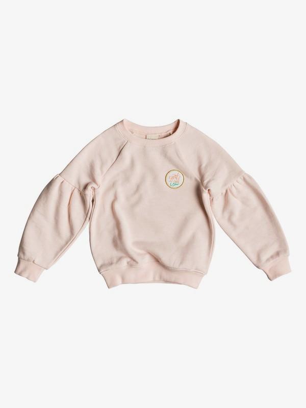 0 Girl's 2-6 How I Do Sweatshirt Pink ERLFT03175 Roxy