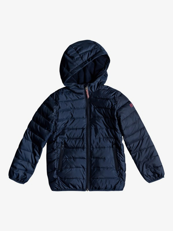 Future Holds - Hooded Puffer Jacket for Girls 2-7  ERLJK03024