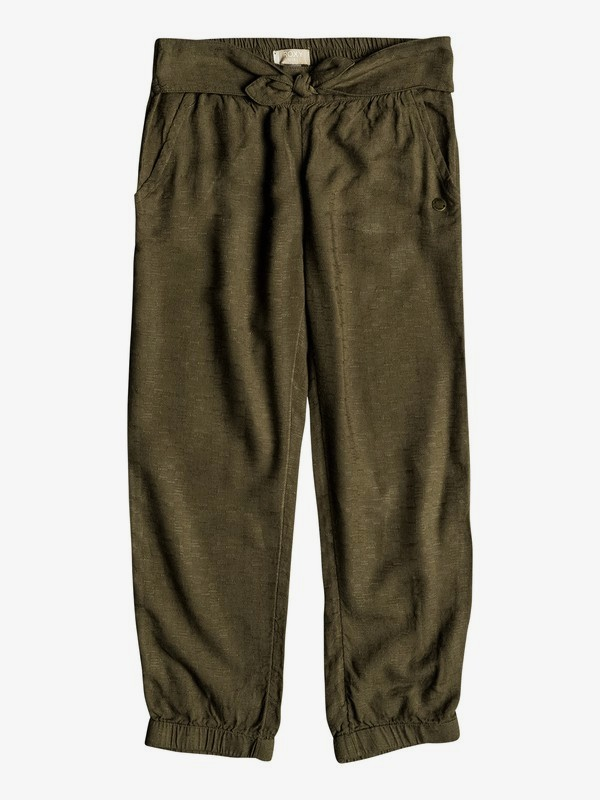 0 Girl's 2-6 Getting Greater Beach Pants Green ERLNP03029 Roxy