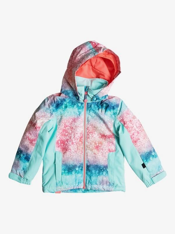 0 Mini Jetty - Snow Jacke für Mädchen 2-7 Orange ERLTJ03004 Roxy