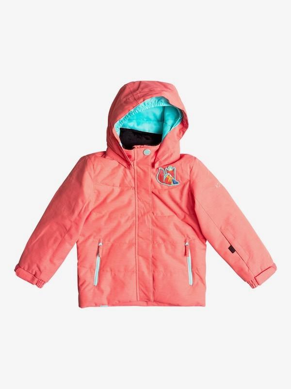 0 Anna - Snow Jacke für Mädchen 2-7 Orange ERLTJ03005 Roxy