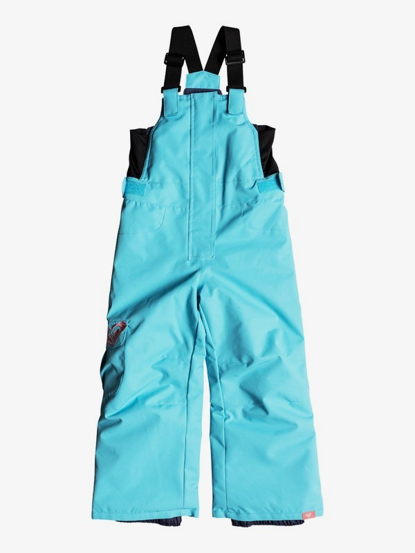 0 Girl's 2-6 Lola Snow Bib Pants Blue ERLTP03005 Roxy