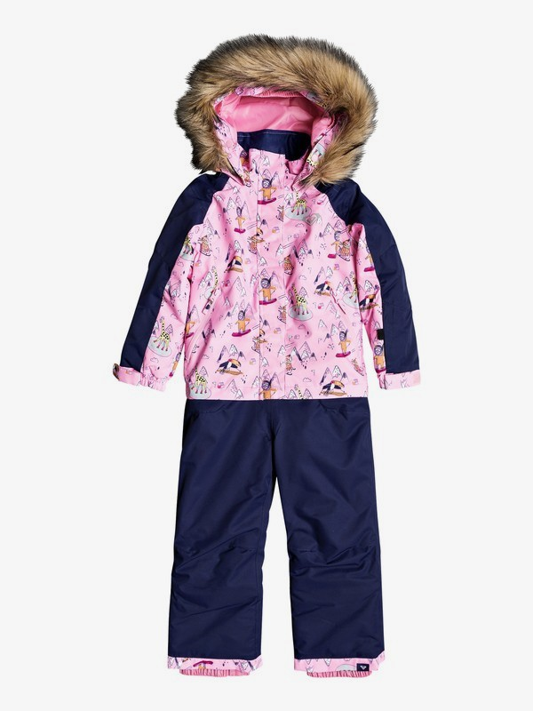 0 Paradise Snowsuit Pink ERLTS03005 Roxy